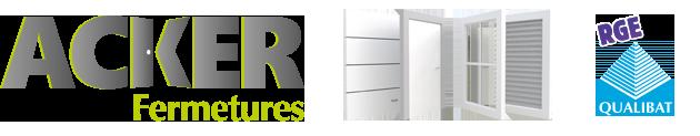 Acker Fermetures - Spécialiste en pose et rénovation de fermetures : portes, fenêtres et volets.